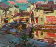 Bridges in China <br/>village