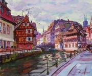 The Little France in Strasburg