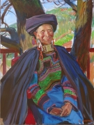 Old woman<br/>from Sichuan