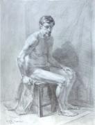 sitting-model-1988