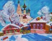 January Sun at Suzdal