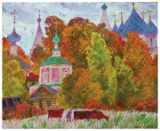 October at Suzdal